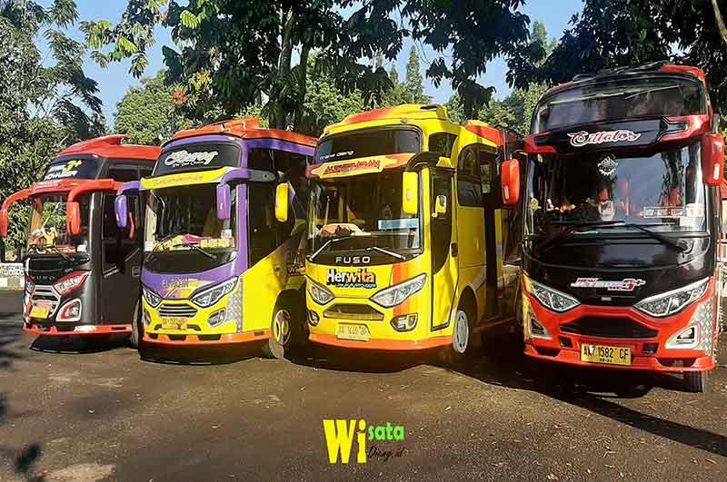transit bus di wonosobo